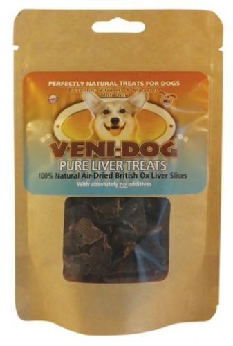 Veni Dog  - Ox Liver Treats 40gm